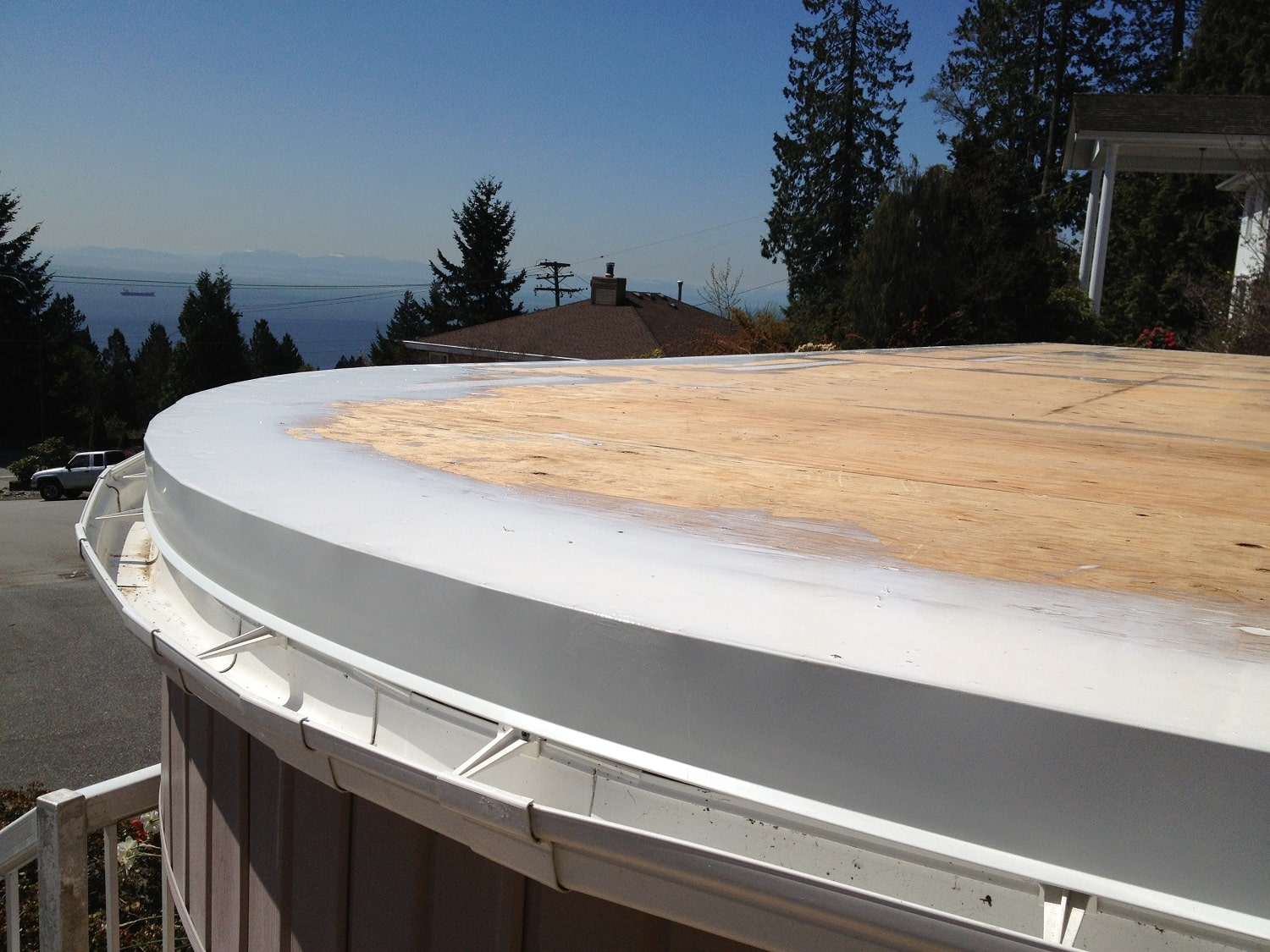 Waterproof Membrane For Balcony : Waterproof membrane vancouver new port dry deck