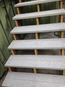 Waterproof Membrane Stairs