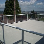 Aluminum Railing Vancouver - Waterproof deck resurfacing and repair Vancouver - Newport Dry Deck