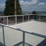 Aluminum Railing Vancouver - Waterproof deck resurfacing and repair Vancouver - Newport Dry Deck