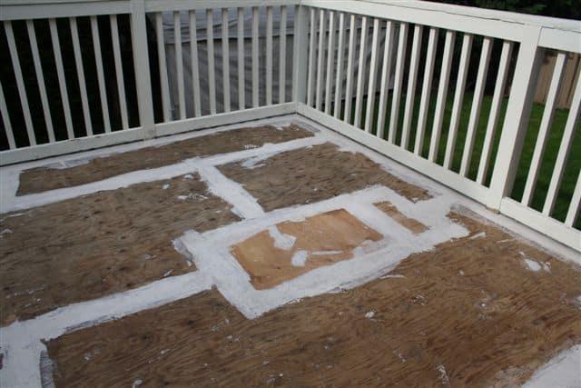 Deck repair in Surrey, BC