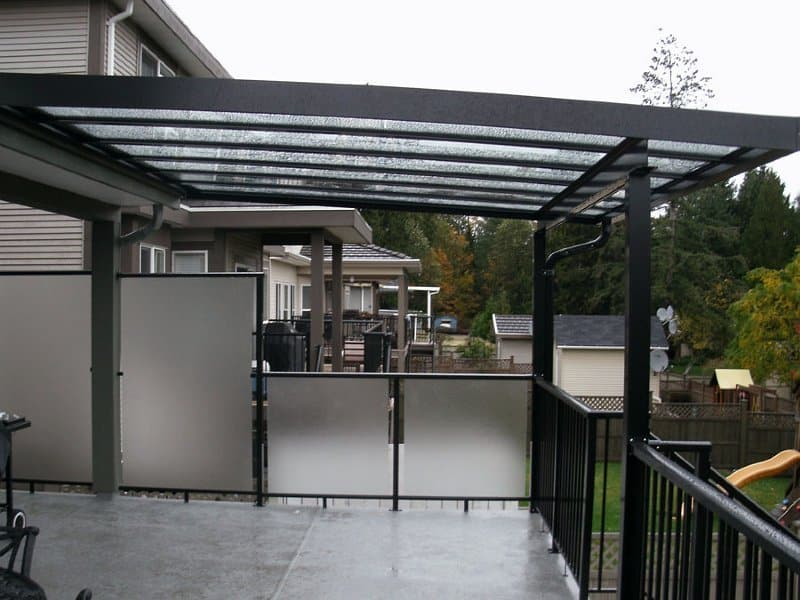 Patio cover in vancouver