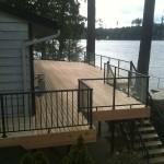 deck repair for deck overlooking lake