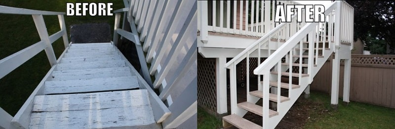 vinyl decking and construction