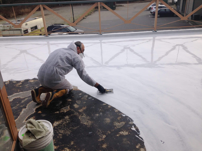 rain resistant sundeck coatings