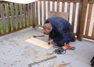 Deck repair in Vancouver, Burnaby, Surrey