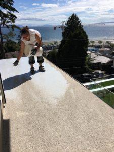 Polyurethane Deck Repair for waterproof and sun resistant deck resurfacing