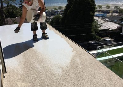 Polyurethane Deck Repair for waterproof and sun resistant deck resurfacing