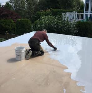 polyurethane deck waterproofing