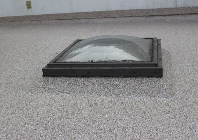 Waterproof Deck membrane on Skylight Vancouver